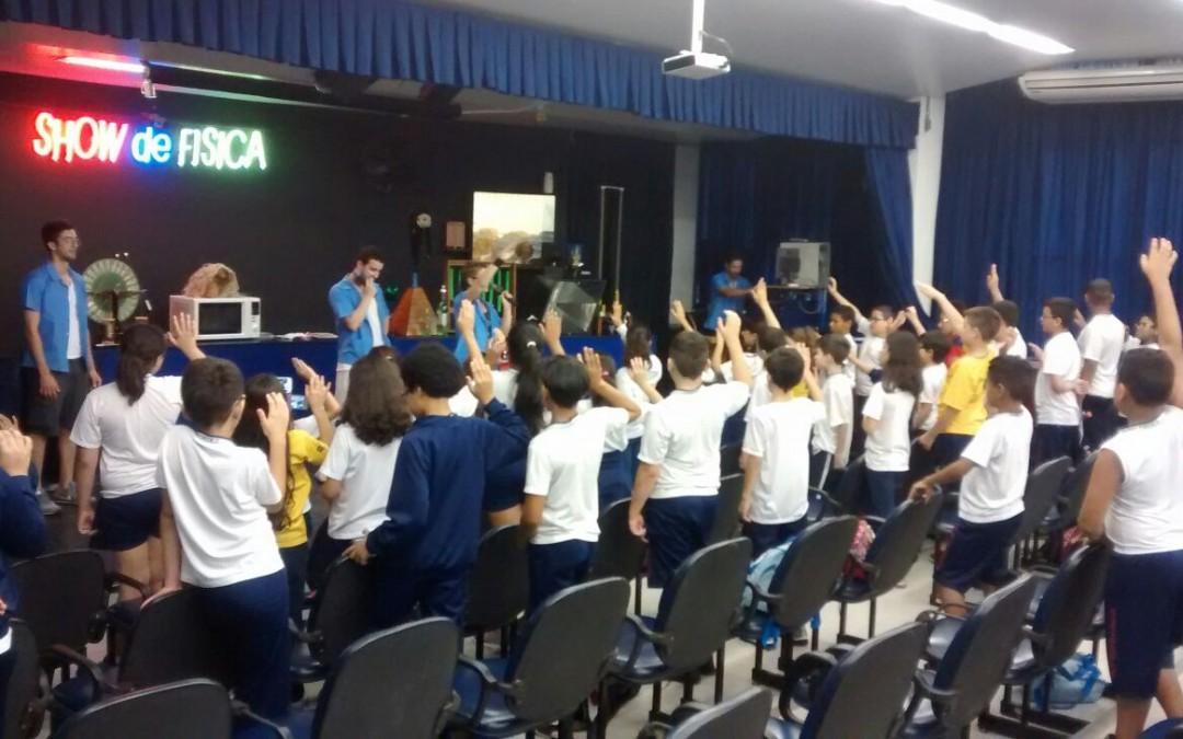 Show de Física – 4º e 5º ano.