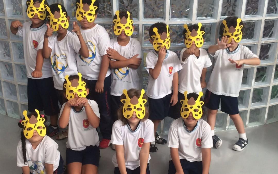 Ed. Infantil – A girafa Flor Faz Novos Amigos