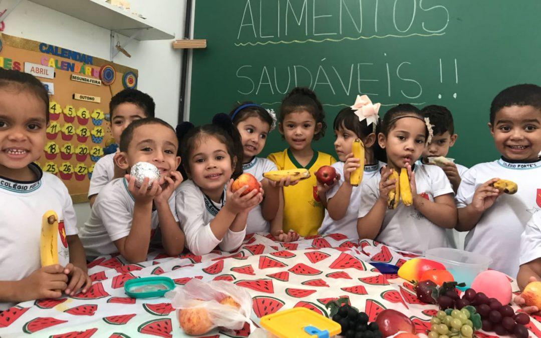 Projeto: Alimentação Saudável – Jardim A e B