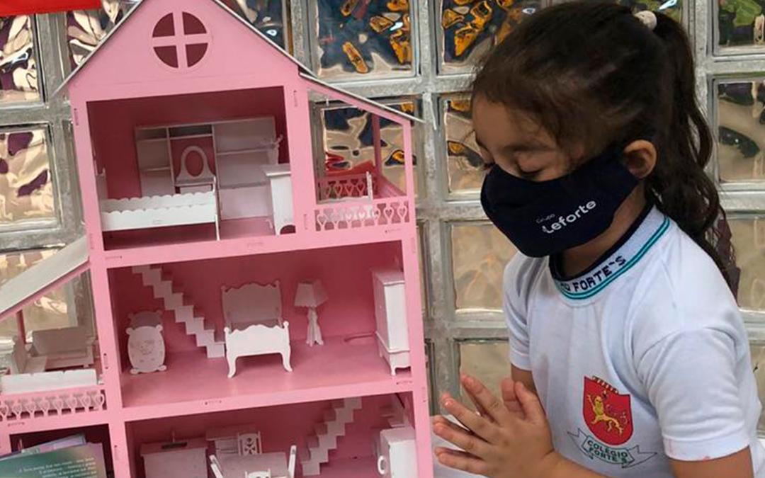 Educação Infantil participa de Projeto de Oração